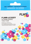 FLWR Brother LC-225Y geel