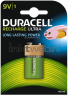 Duracell 9V Rechargeable HR22