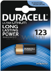 Duracell CR123 single pack CR123
