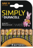 Duracell AAA Simply