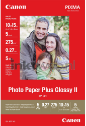Canon PP-201 10 x 15 Photo Paper Plus Glossy II wit 2311B053