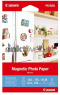 Canon MG-101 Magnetic Photo Paper 10 x 15 cm