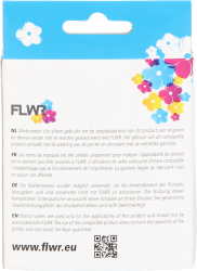 FLWR Brother LC-123 zwart CO-LC123BK