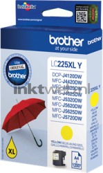 Brother LC-225XLY geel LC225XLY